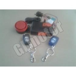 Motor riasztó, motorkerékpár bicskakulcsos távirányítóval robogóhoz